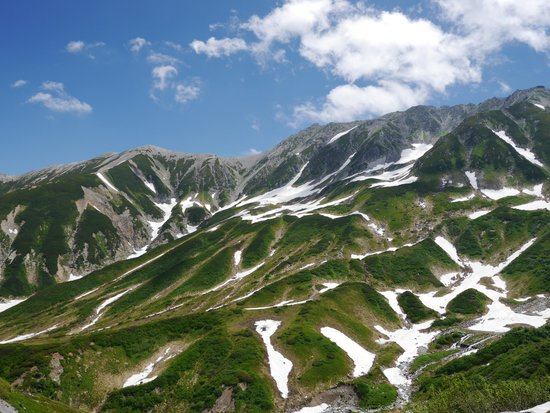 Tateyama Kurobe Alpine Route: 山景色