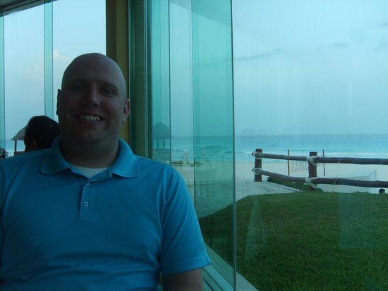 Park Royal Cancun: The view from the nicer restaurant