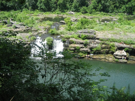 Rock Island State Park: One part of the Great Falls