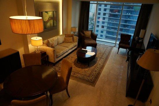 Oakwood Premier Joy - Nostalg Center Manila : Living Room