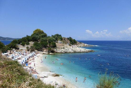 Kassiopi: Один из пляжей