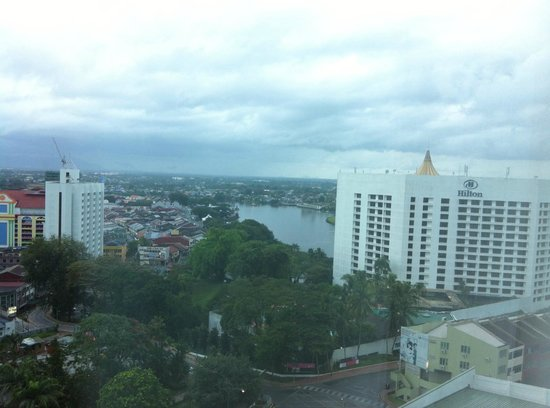 Pullman Kuching: View from our room