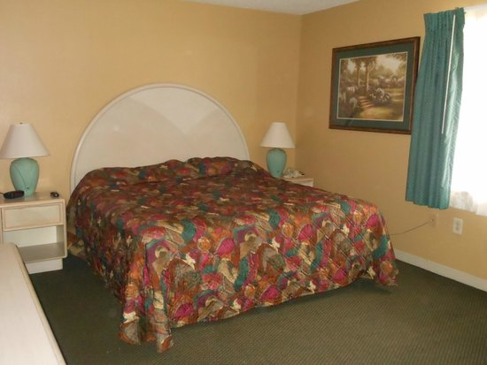 Rodeway Inn & Suites : Bedroom