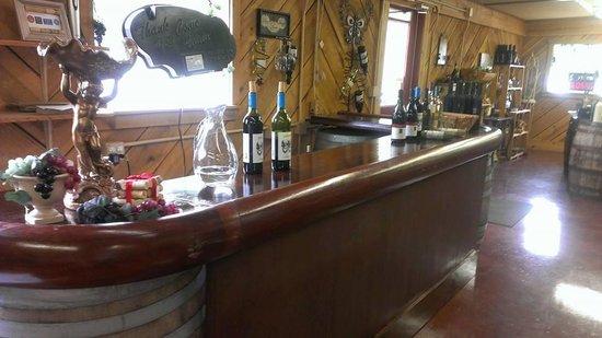 Promeny Olive & Wine: tasting bar
