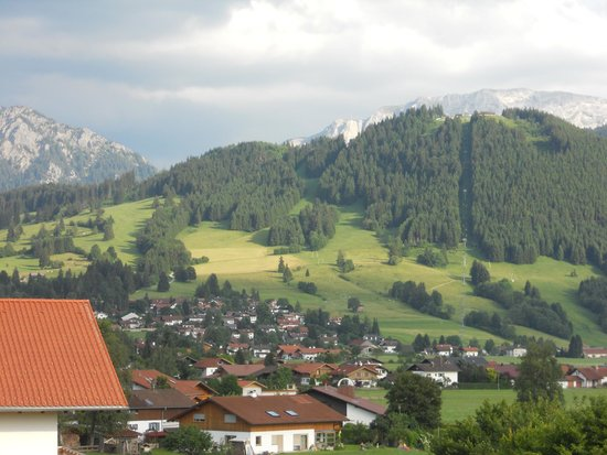 Hotel Alpenblick Berghof: View from our balcony