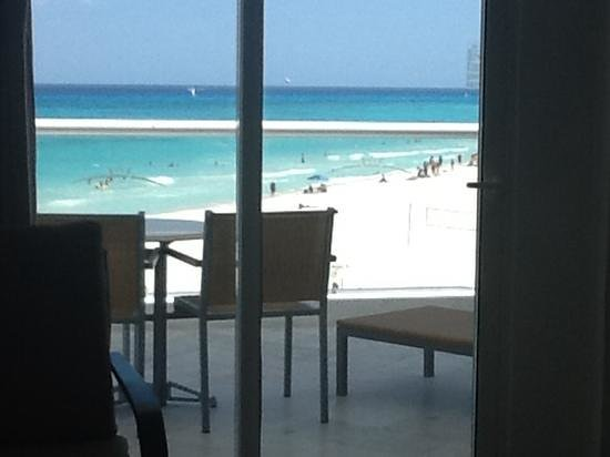 Playacar Palace: view from room 343