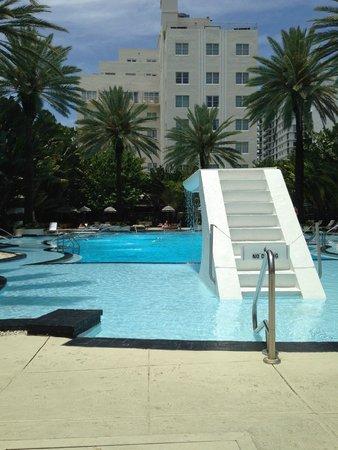 The Raleigh Miami Beach: Raleigh Pool. Art Deco Design. Fun, Fun, Fun!