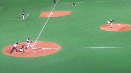Sapporo Dome : 白熱した投手戦