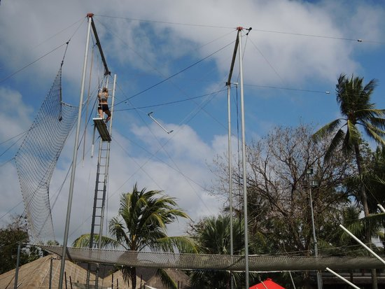 Club Med Bali: You must try flying trapeze!