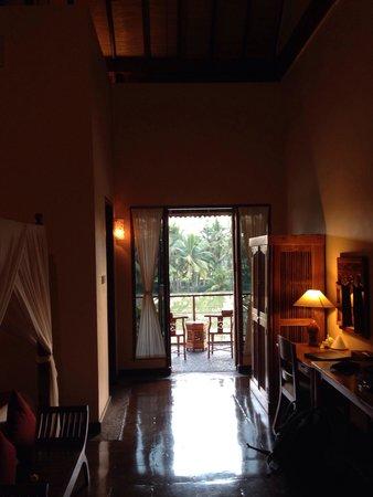 Junjungan Ubud Hotel and Spa: Vu de notre chambre sur les rizières