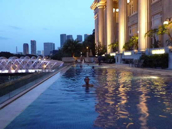 The Fullerton Hotel Singapore: プール