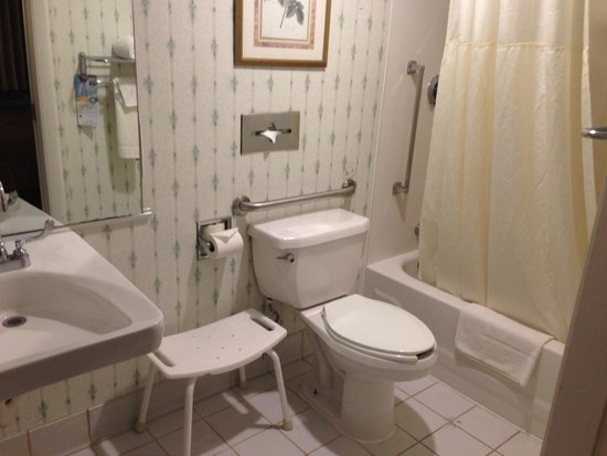 Quality Inn & Suites Lexington : Bathroom