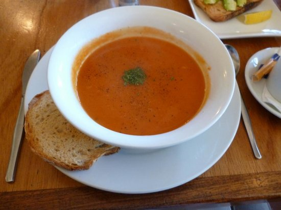 Victory Cafe: Soup of theday