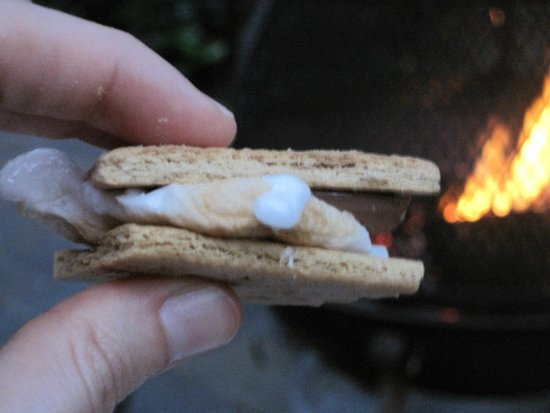 The Cottages of Napa Valley : S'mores via chimenea!