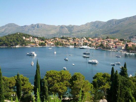 Hotel Croatia Cavtat : View from Quiet Saloon