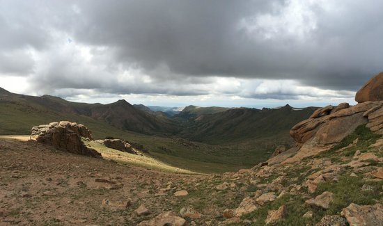 Pikes Peak - America's Mountain: Am weg rauf....