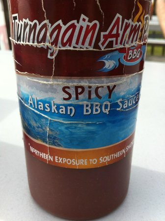 Turnagain Arm Pit BBQ Indian : All the sauces were delicious!