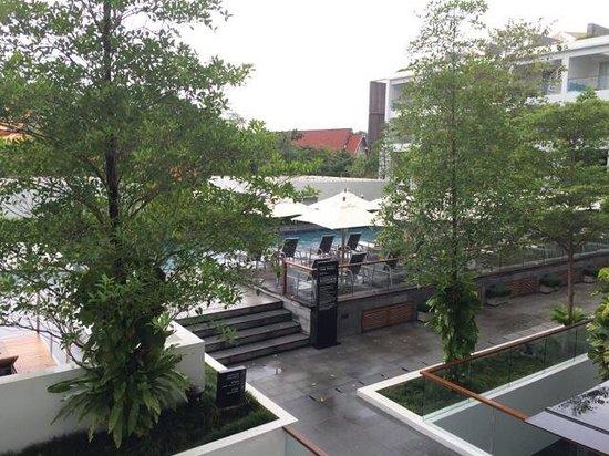Nap Patong: Pool view