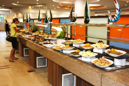 La Blanche Resort & Spa: Un des buffets