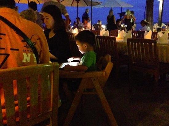 Coco51 Restaurant & Bar, by the Sea : ook voor grotere groepen of gezinnetjes geschikt.