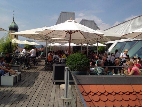 Freiblick Tagescafe: Die Terrasse...