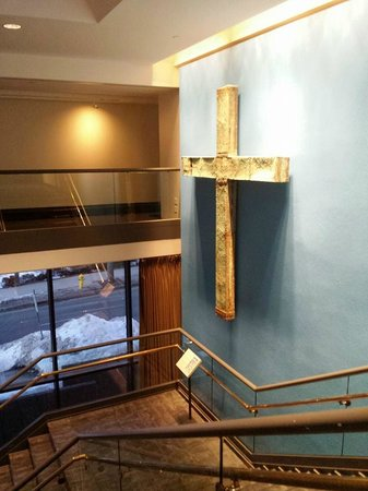 Knights of Columbus Museum: Original Cross from St. Peter's Basilica
