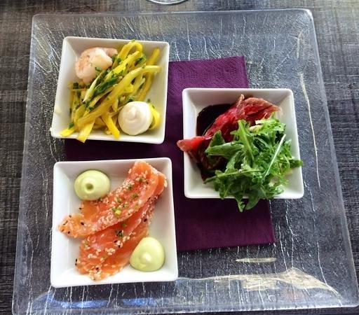 Ravintola Toolonranta: Tastes starter