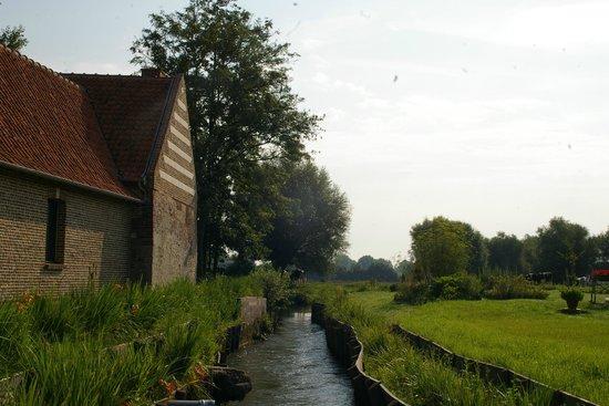 Le Moulin de Tigny : le petit cours