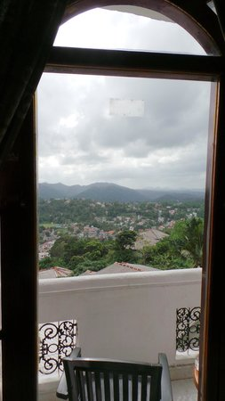 The Richmond House Kandy : View from balcony