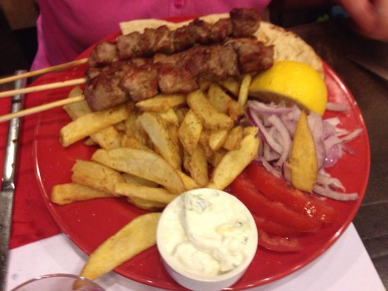 MeatMeatMeat the Grill: Pork skewers plate