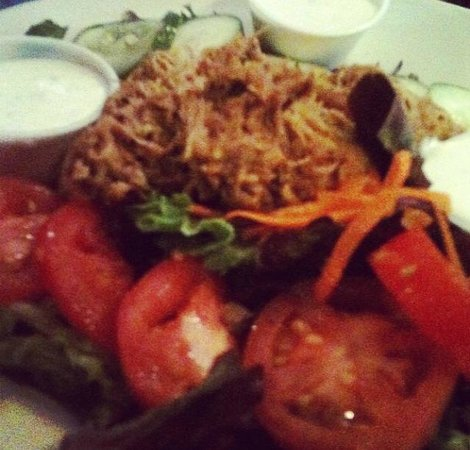 Front Street Brewery: Pulled Chicken Salad