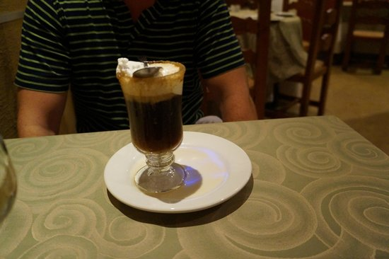 Marival Resort & Suites : Special coffee at the Mexican Resto