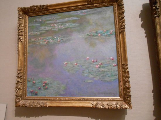 Museum of Fine Arts : Monet-Water Lilies