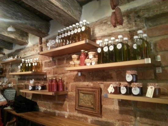 The Hairy Pig Deli: They also sell home-made mustard, olive oil, etc