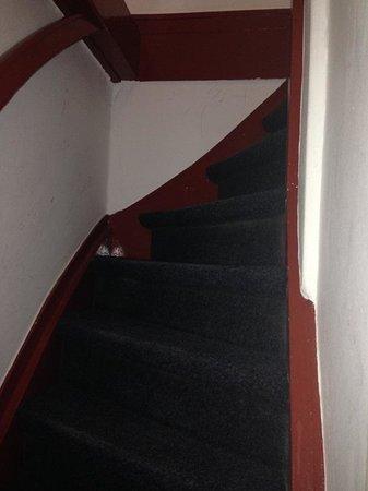 Hotel De Mallemoolen: Stairs