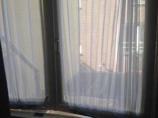 Hotel De Mallemoolen: Window