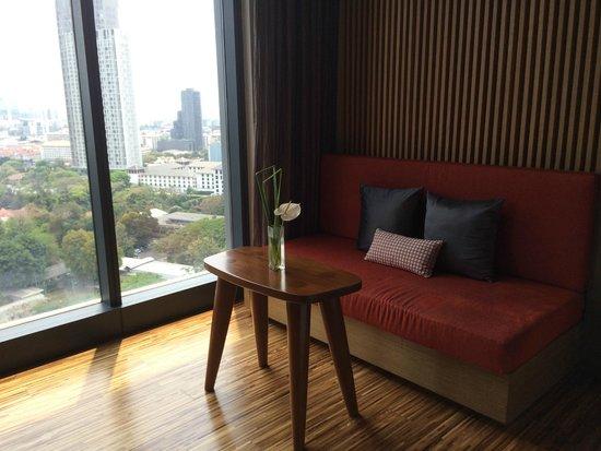 SO Sofitel Bangkok: living room