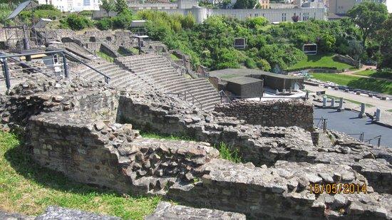 Colline de Fourvière : Ruins