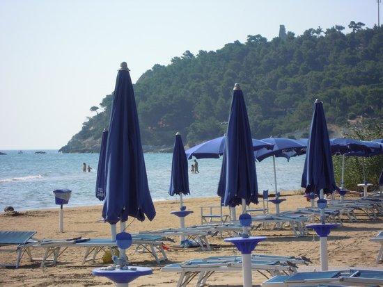 Hotel Gargano: parte della spiaggia