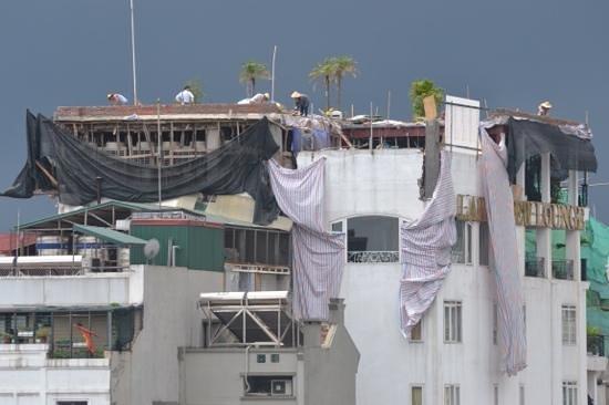 Hanoi Tirant Hotel: construction, construction