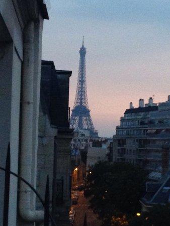 Hotel Val Girard: Sunrise