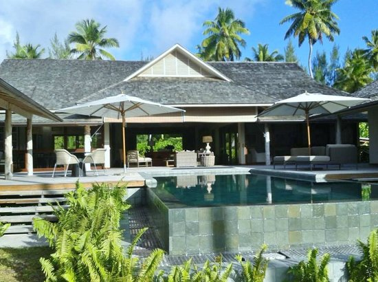 Desroches Island: Very spacious and comfortable Lodge