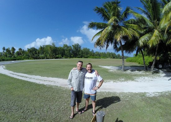 Desroches Island: With one of our many wonderful hosts