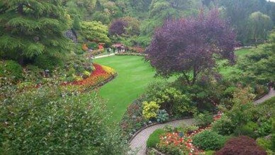 Butchart Gardens : Just one of the stunning areas.