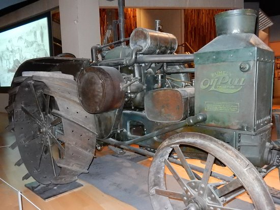 Glenbow Museum: Vehicle for oil