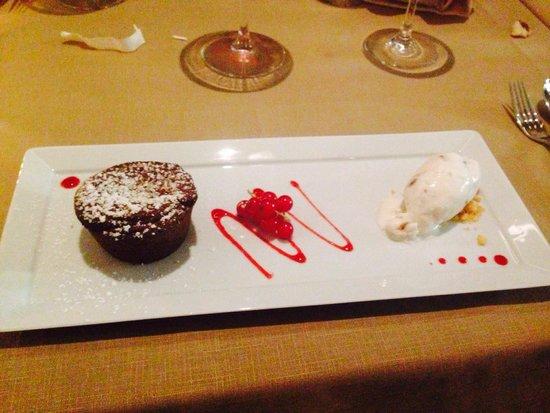 Minotor Steakhouse: Chocolat fondant