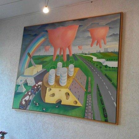 Hotel Madison am Dom: Картинка в столовой))
