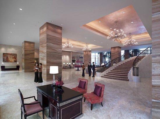 Shangri-La Hotel,Xian: Hotel Lobby