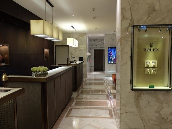 Mandarin Oriental, Geneva : The Lobby