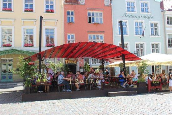 Restoran Troika: Vue du restaurant
